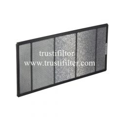 Aluminium honeycomb photocatalyst filter